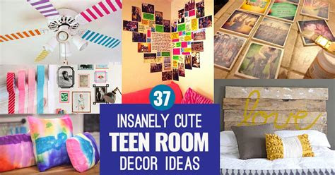 insanely cute teen bedroom ideas  diy decor crafts