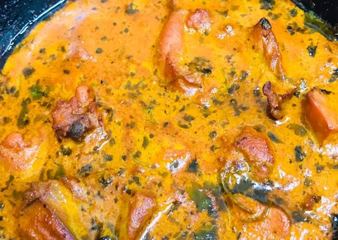 Recipe: Appetizing Kadai chicken