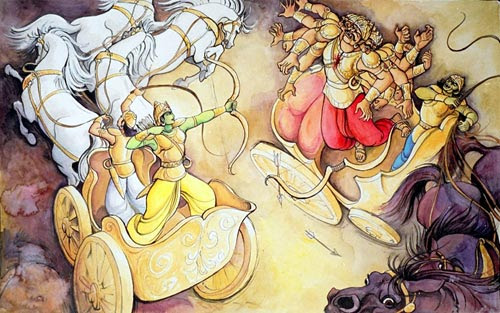 Art Of Ramayan - ISKCON desire tree 03