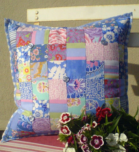 Sweet blue cushion