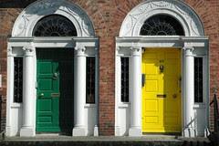 Portas Xeorxianas-Georgians doors, Dublin