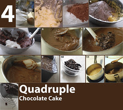 Recipe: Quadruple Chocolate Cake