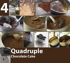 Recipe: Quadruple Chocolate Cake