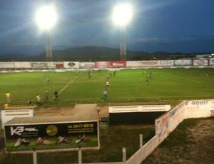 Corintians-RN vence o Santa Cruz-RN e afunda tricolor na lanterna do Estadual (Foto: Carlos Adams)