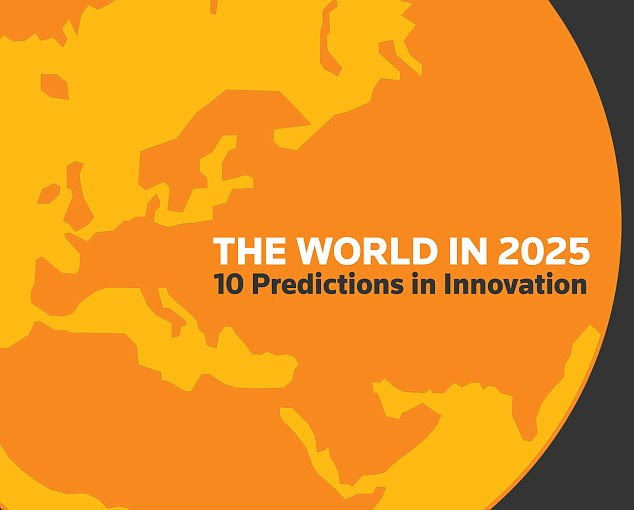 A new paper by Thomson Reuters compiles 10 innovation predictions for the world in 2025, based on research done by analysts. In some cases, the analysts found a growing body of work that gave additional credence to the prediction. In others, the topic was still emerging