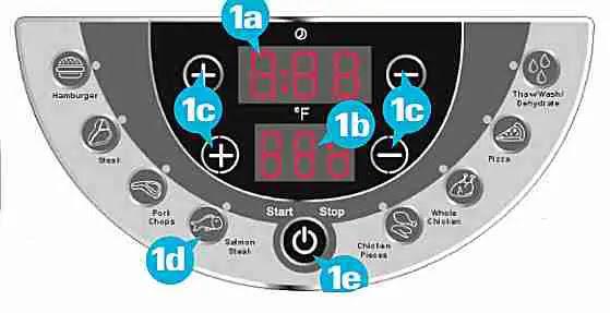 Sharper Image 8246 12 Litre Super Wave Oven