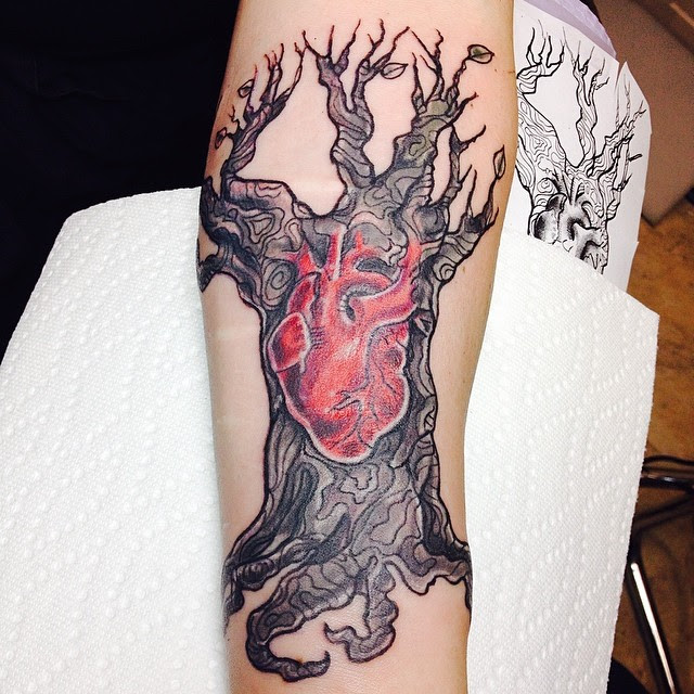 85 Best Tree Tattoo Designs Meanings Family Inspired 2018
