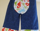 Big Butt Baby Pants/Cloth Diaper Pants/Baby Pants (6-12 month) with dinosaurs