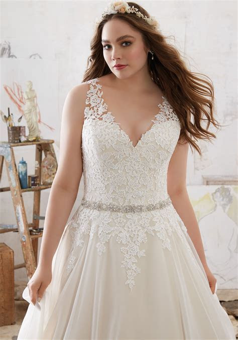 Michelle Wedding Dress   Style 3214   Morilee