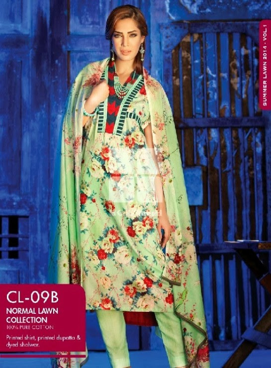 Girls-Wear-Summer-Dress-Chunri-Prints-Block-Prints-Embroidered-Single-Lawn-New-Fashion-Suits-by-Gul-Ahmed-16
