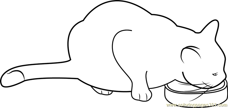 Cat Head Coloring Page at GetColorings.com   Free ...