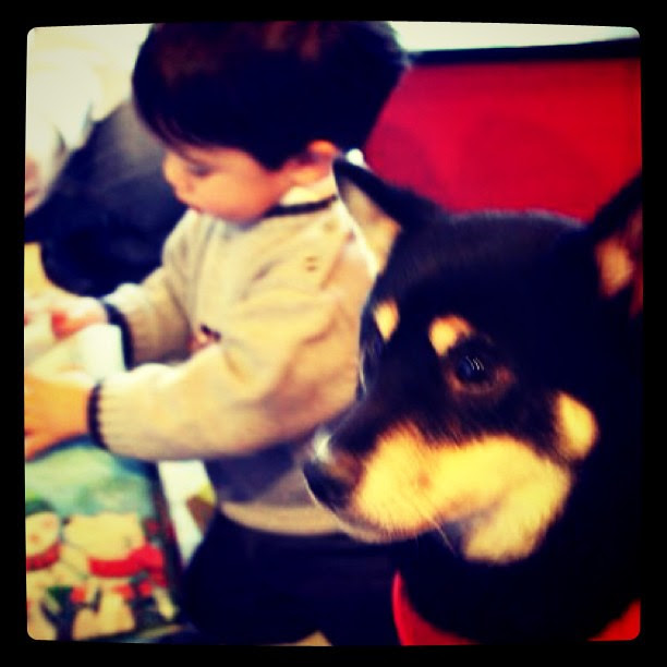 Owen and Kiva