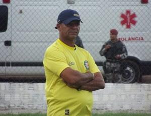 Wassil Mendes, técnico do Santa Cruz-RN (Foto: Tiago Menezes)