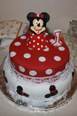 Gluten Free Birthday Cake Minnie Mouse
