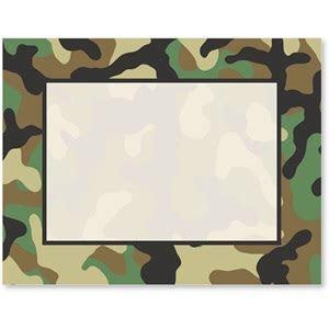 Camouflage Postcards   PaperDirect's