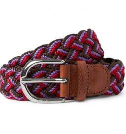 Etro Woven Cotton Belt