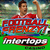 Bonus to Try New Football Frenzy Slot at Intertops Casino that Captures the Excitement Building for FIFA World Cup in Brazil