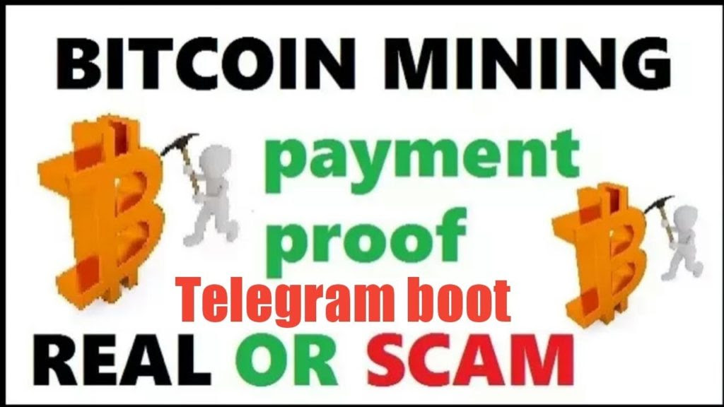 Free Bitcoin Telegram Cloud Mining 2018 Earn 0 01 Btc Daily Without -