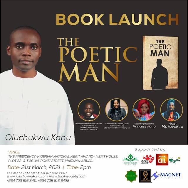 [BangHitz] Book Launch: The Poetic Man By Oluchukwu Kanu