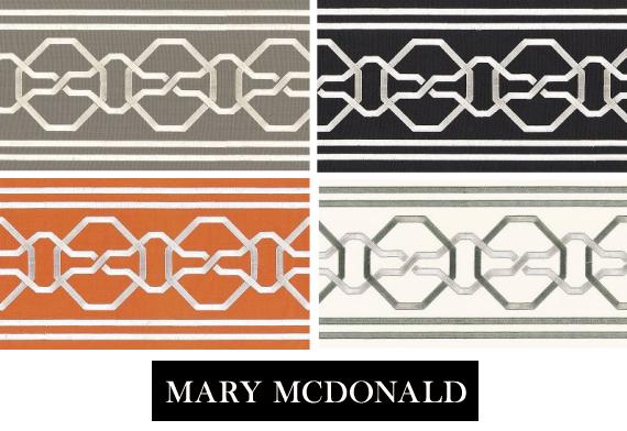 Mary McDonald Trim for Schumacher