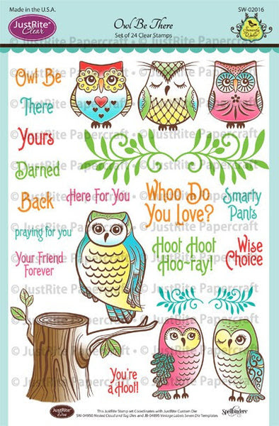 Owl Be There Clear Stamps