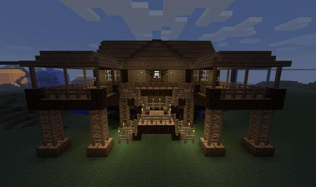 How To Build Awesome Houses In Minecraft Xbox 360 Minecraft Xbox 360 Ps3 How To Build A Cool Simple 10 31www Youtube Com Embed Nt0ihrb Dsi Here Is A Cool Starter Survival House Built In Creative Mode For