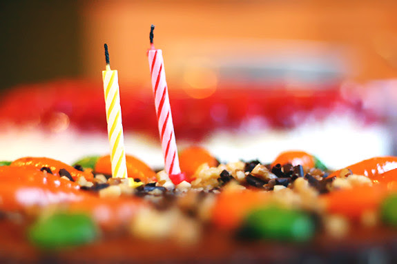 Happy 2nd Birthday Candles