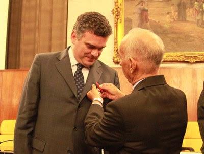 Cerimônia de entrega da Medalha Dráusio Marcondes de Souza.