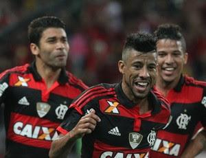 Léo Moura, Flamengo, Atlético-MG, Fla x Galo (Foto: Gilvan de Souza/Fla Imagem)