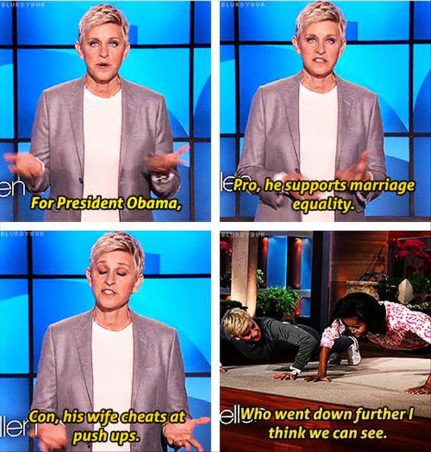 Funny Ellen Degeneres Quotes - 25 Pics