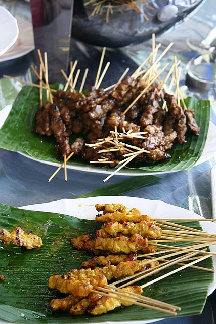 Any party with free-flow satay is a winner!