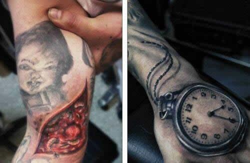 Tatuajes Hiperrealistas Noticiero Diario