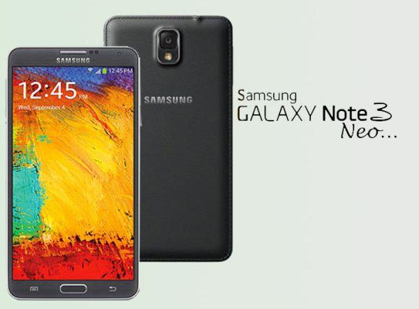 Samsung Galaxy Note 3 Neo, Android Jelly Bean Bertenaga Hexa Core