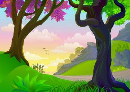 96 Gambar Kartun Hewan Dan Pemandangan Gratis Terbaru
