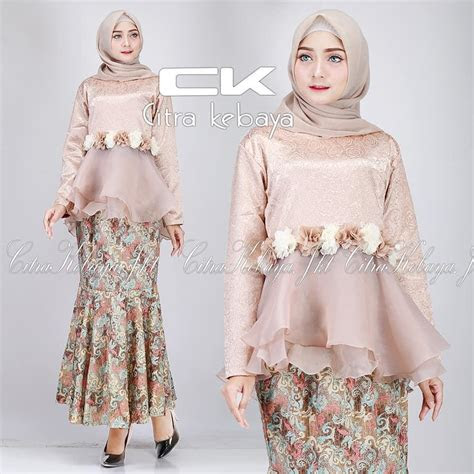 model baju batik kombinasi rok duyung tulisanviralinfo