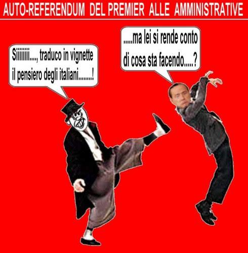 elezioni amministrative,berlusconi,politica,attualità,satira