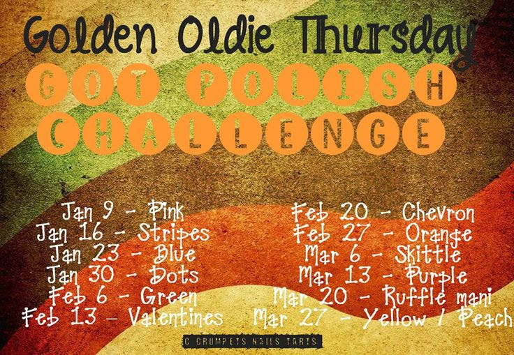 Golden Old Thursdays banner