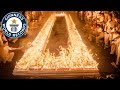 World Record: 72,585 Candles On A Birthday Cake - Video