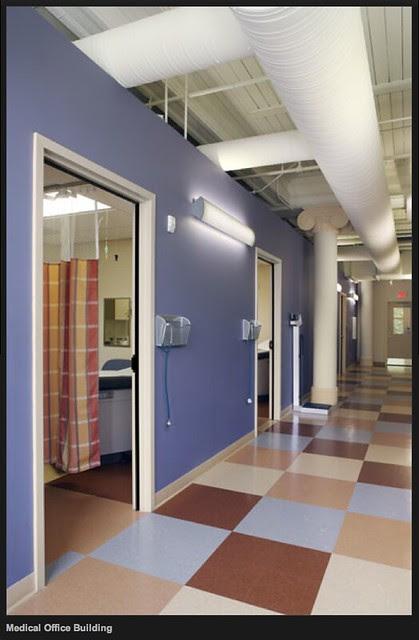 Holyoke Health Center Corridor