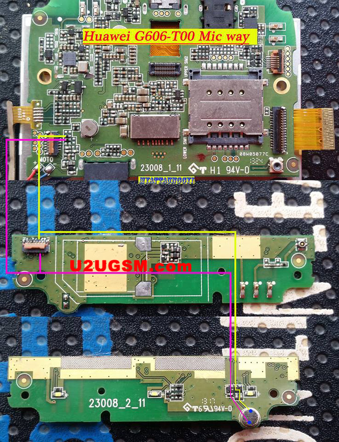 Huawei Ascend G606-T00 Mic Problem Jumper Solution Ways Microphone Not Working