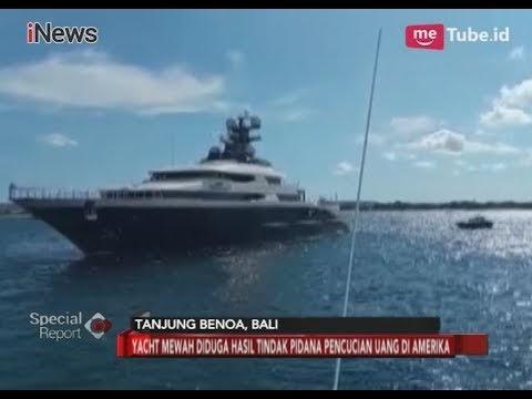 Kapal Yacht Mewah Diduga Hasil Korupsi Transnasional: FBI-Polri Sita Sejumlah Barang