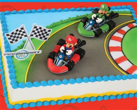 Mario Brothers Racecar Cake Topper Kit ? Cake Connection