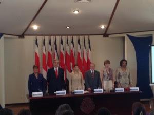 El convenio Proyecto Emprende fue firmado hoy en Casa Presidencial. CRH