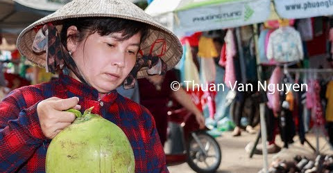 Vietnam || Thot Not Village Market || Can Tho City