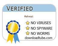 Azhagi antivirus scan report at downloadtube.com