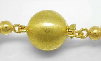 Foto 3, 9mm Spitzen Zuchtperl Kette, 14K Gold Schloss, Shop Neu, S8530