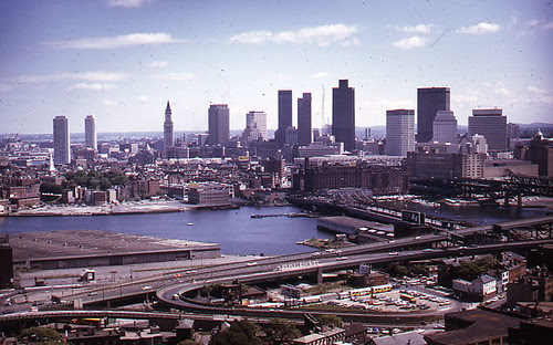 Boston Skyline, from Bunker Hill Monument by City of Boston Archives