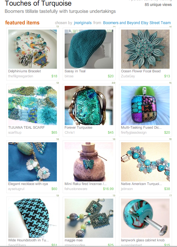 Touches of Turquoise