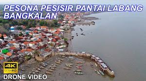 Jual Footage Aerial Drone Kutai Sukbar, Pantai Goa Petapa, Pesisir Pantai Labang (Ultra HD 4K)