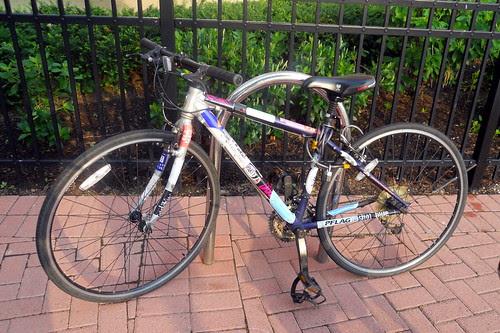 Politically active bike